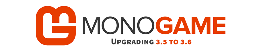 Updating MonoGame from 3.5 (NuGet) to 3.6 (source)