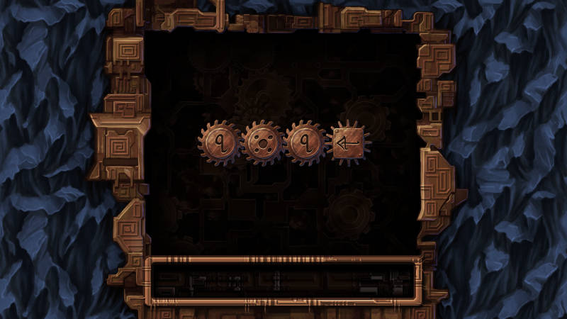 Machine at the Heart of the World, screenshot showing a level introducing math operators