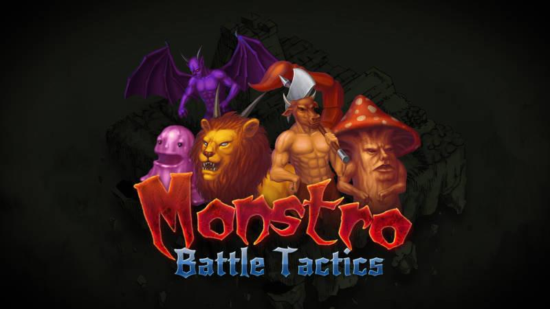 Monstro: Battle Tactics, title screen